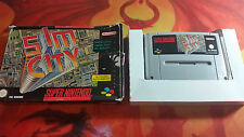 SIM CITY SUPER NINTENDO SHIPPING 24/48H