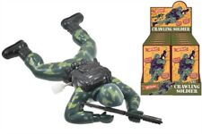 Retro classic Crawling Soldier Wind Up Toy 16cm army boys toy