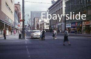 6 orig 1960 35mm Kodachrome slides - Downtown Denver, CO scenes