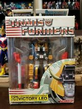 Takara Transformers MegaSCF 05 Victory Leo Cybertron Armament Knight Complete