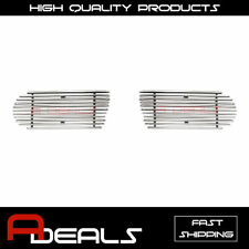 FOR FORD EXPLORER 2002-2005 FOG LIGHTS BUMPER BILLET GRILLE GRILL INSERT A-D