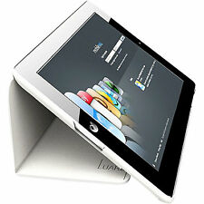 Leather Smart Cover Case Stand for Apple iPad 2, 3  White