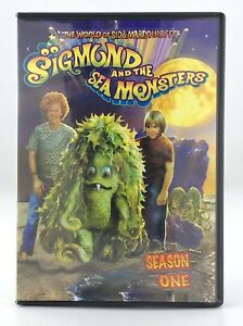 2011 Sigmund and the Sea Monsters DVD Season One 3 Disc Set Box T870