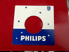 "PHILIPS~RARE ~B  ~ RECORD COMPANY SLEEVE ~ 7"" SINGLE 45 RPM"