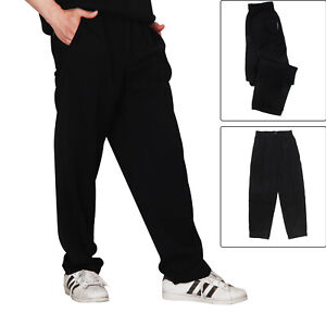 New Chef Trousers Plain Elasticated Uniform Unisex Work Kitchen Chef Pants