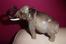 RARE ROYAL DOULTON ELEPHANT TRUNK IN SALUTE HN 2644 - PERFECT !!