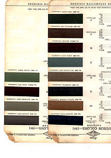1941 HUDSON TRAVELER COMMODORE DELUXE BIG BOY 41 PAINT CHIPS ACME 7