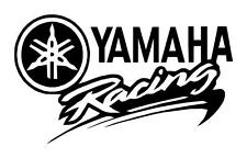 YAMAHA RACING 4.5X6 SNOWMOBILE MOTORCYCLE JETSKI TRUCK CAR WINDOW DECAL STICKER