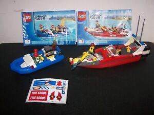 Lego City Fire Boat #60005