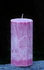 200hr POMEGRANATE LEMONADE Sparkling Aromatic ECO CANDLE Handmade & Gift Wrapped