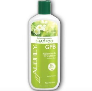 Aubrey Organic GPB Shampoo Balance Protein Replenish Strengthen Normal Hair 11oz
