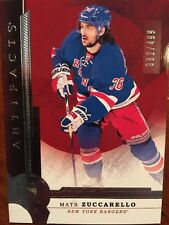 2016/17 Ud Artifacts Hockey Silver Mats Zuccarello 362/499