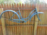 Vintage 26'' 1950s/60s Schwinn tornado Bicycle-parts  restore