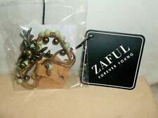 Pattern Beaded Bracelet - Multi *Nwt* Zaful~ Deer Head With Bell