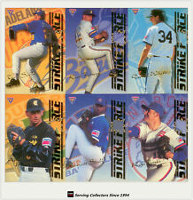 1995 Futera ABL Cards Strikeforce/ Firepower Chase Card Full Set (9)-Rare