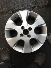 "HYUNDAI I20 15"" ALLOY WHEEL SILVER GENUINE OEM 529101J200"