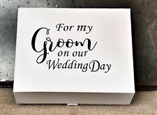 Groom To Be Keepsake Gift Box / Groom Wedding Box / memory Box