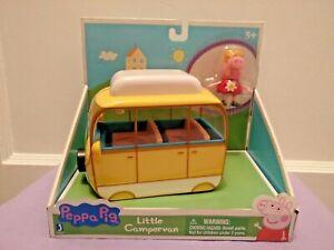 Peppa Pig Little Campervan Toy Jazwares NEW