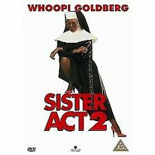 Sister Act 2 Back in The Habit DVD 1994 by Whoopi Goldberg Kathy Najimy .