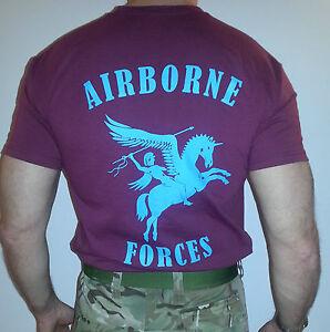 Airborne Forces 'T' Shirt, Parachute Regiment,