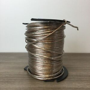 Carol Brand C1357.18.90 Speaker Wire Cable 120V Clear 18 Gauge 500' Roll