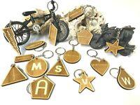 Holz Schlüsselanhänger - Einseitige individuelle Gravur gestaltbar - Geschenk