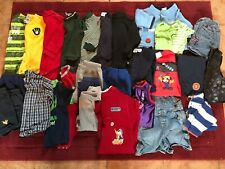 31 Piece Toddler Clothing Pants Shirts Shorts Onsies Rompers Sz 12-18M