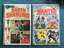 DC SPECIAL 8 WANTED SUPERMAN BATMAN 18  23 3 MUSKETEERS SHAZAM