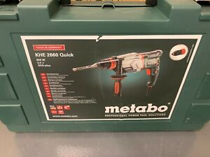 NEW Metabo  KHE 2660 Quick Combination Hammer Drill