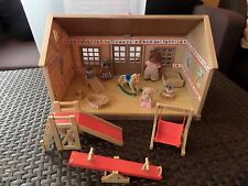 sylvanian families nursery complete with furniture