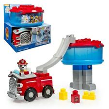 Paw Patrol Ionix Junior Construct The Lookout Tower Fire Engine Playset 200697