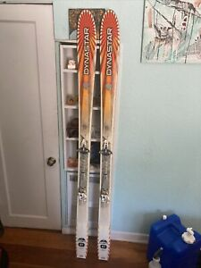 184cm dynastar cham 87 skis with dynafit bindings