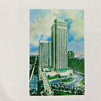 Vintage 1967 Postcard Le Chateau Champlain Place du Canada Montreal Quebec