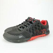 Reebok Crossfit Shoes M43438 Nano 4.0 Black Red Training Mens Size 12 M