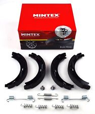 MINTEX REAR PARKING BRAKE SHOES CHRYSLER MERCEDES MFR693 (REAL IMAGE OF PART)