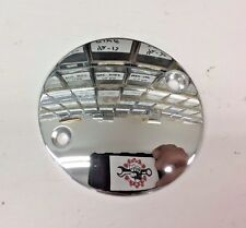 2 HOLE CHROME DOMED POINTS COVER SOFTAIL big twin harley timing ignition timer