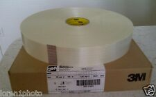 (Lot of 2) Roll~Scotch High Strength Filament Tape 890RS Clear, 2.36 in x 546 yd
