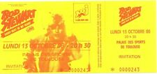 RARE / TICKET CONCERT - ROD STEWART : LIVE A TOULOUSE ( FRANCE ) 1986 LIKE NEW
