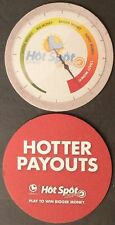 CA LOTTERY HOTSPOT New Bar Beer Coaster California Lottery