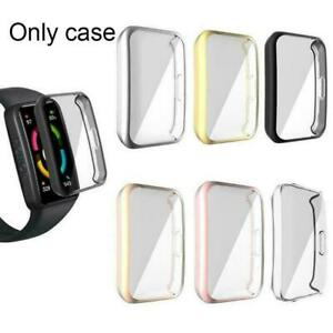 Soft TPU Watch Cover Shell Screen Protector Case For huawei Band 6 Honor M4X6