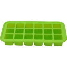Renberg - molde verde para 18 cubitos de hielo 19.2x10.7x2.4 cm. silicona