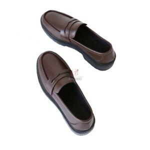 Toilet-Bound Hanako-kun Japanese JK Uniform Shoes Black Brown Cosplay Shoes