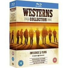 Western Collection: Pale Rider,Searchers,Wild Bunch,Rio Bravo,How The... Blu Ray