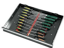 Ernst 6010 Red 20-Tool Screwdriver Rail Set