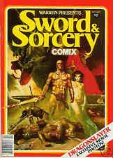 Warren Presents # 13: Sword & Sorcery comix (estados unidos, 1981)