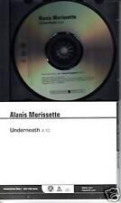 ALANIS MORISSETTE Underneath PROMO DJ CD Single 2008