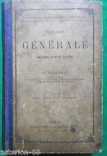 HISTOIRE GENERALE  1610 A NOS JOURS G.DUCOUDRAY 1902 HACHETTE