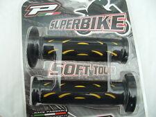 Grip Superbike, Strada Bicicletta Barra Grip, Suzuki, Yamaha, Ducati, Pro-Grip Yell