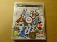 PS3 GAME / MADDEN NFL 13 (2013) (EA SPORTS) (PLAYSTATION)