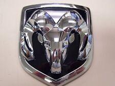 chrome Ram truck ram head GRILLE medallion 3D 68050754AA oem factory new